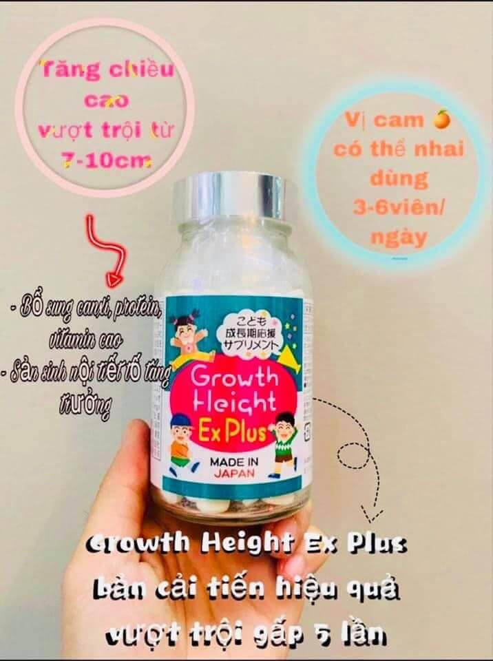 growth height ex plus 2